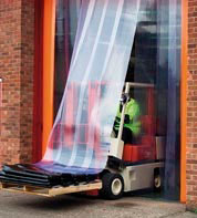 Fabricación de Lamas de PVC flexible transparente